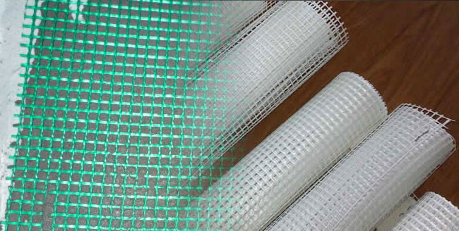 Fiberglass Fabric for Reinforcing of Building Materials