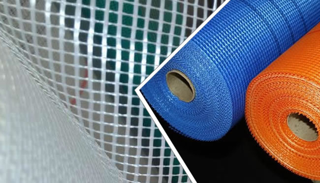 Latex Coated Fiberglass Mesh for Exterior and Interior Structural Wall Rendering and Base Coat