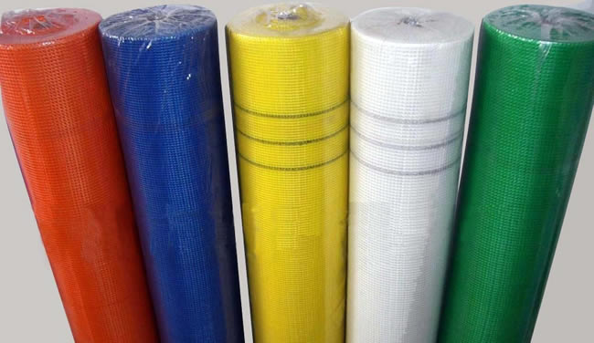 Stucco Base Coat Netting Fabric