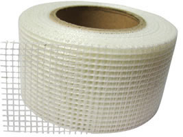 White Color Wall Plaster Fiber Glass Mesh Cut to Pieces